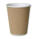 Ripply 20oz - 591ml Brown Cup Pack of 500