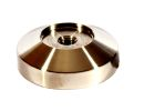 Reg Barber Stainless Steel 53mm Flat Tamper Base