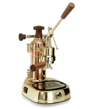 La Pavoni Europiccola Espresso Machine Brass & Copper ERG8