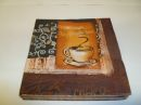 7 x 7 Coffee Theme Paper Napkins Pack of 20