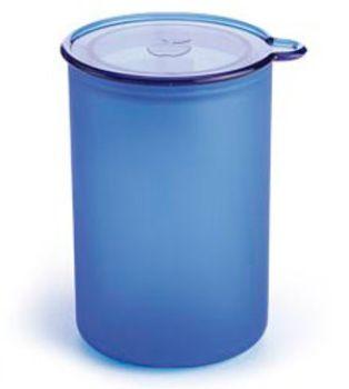 Juypal Solid Blue 60oz Coffee Storage Jar