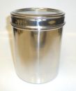 Stainless Steel 38oz large Coffee Storage Jar