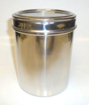 Stainless Steel 38oz large Coffee Storage Jar