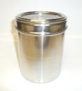 Stainless Steel 25oz Meduim Coffee Storage Jar