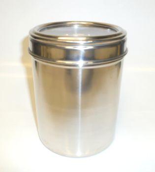 Stainless Steel 25oz Meduim Coffee Storage Jar