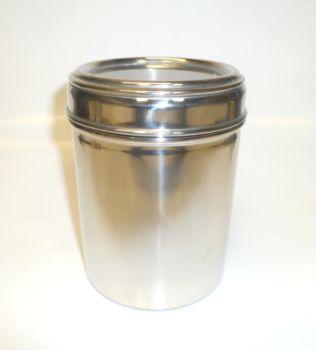 Stainless Steel 18oz Meduim Coffee Storage Jar
