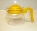 Pyrex 2 Cups Coffee / Tea Glass Pot - Yellow