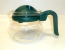 Pyrex 2 Cups Coffee / Tea Glass Pot - Green