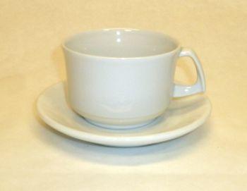 Mongatina 0.20 lts Fine Porcelain Cappuccino Cup / Saucer