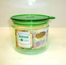 Juypal Clear Green 35oz Coffee Storage Jar
