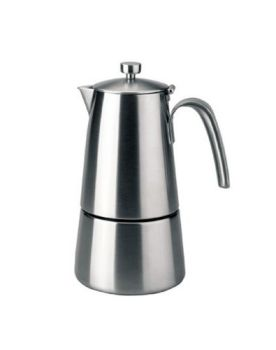 Lacor 4 Cups HyperLuxe StoveTop Coffee Maker HOT DEAL