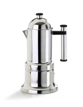 VEV Vigano Kontessa Tubo 4 Cups Espresso Maker