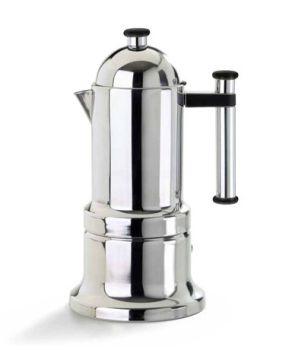 VEV Vigano Kontessa Tubo 6 Cups Espresso Maker