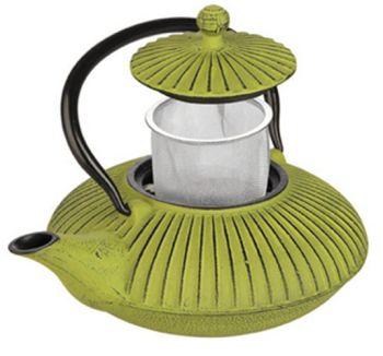 0.75 Lts Hobnail Cast Iron Green Tea Pot