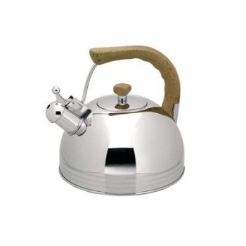 Lacor 3 Lts - 3.2 Qrt Stainless Steel Whistling Kettle