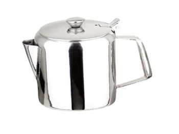 Diner Straight 70oz Stainles Tea Pot