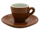 Nuova Point Brown Espresso Cups Set of 6