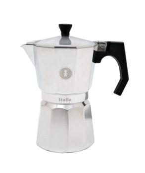 Italia Moka 3 Cups - 200ml Espresso Maker