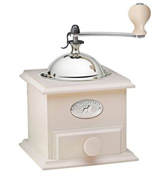 Peugeot Cottage Ivory Matte Manual Coffee Grinder