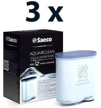 Philips Saeco AquaClean Filter - Set of 3