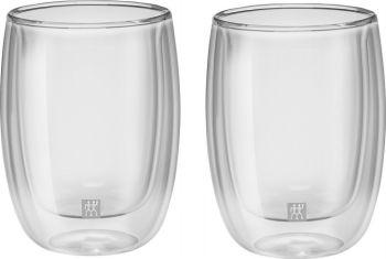 Zwilling JA Henkels Sorrento 6.8oz CAPPUCCINO Double Wall Glass Cups Set of 2