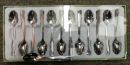Toscana Espresso Spoons Set of 12