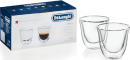 Delonghi Espresso Glass Set of 2