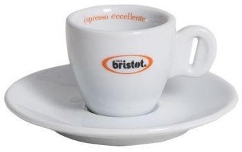 Bristot Logo Espresso Cups Set of 6