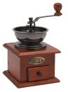 Classic Wooden Manual Coffee Grinder
