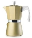 Ibili 9 Cups - 550ml Evva Golden Espresso Maker