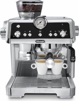 Delonghi La Specialista CHROME Semi Automatic Espresso Machine EC9335
