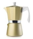 Ibili 6 Cups - 300ml Evva Golden Espresso Maker