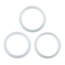 4 cups SILICONE Gaskets for Stella Coffee Makers - Set of 3