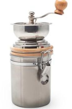 Stainless Steel Manual Coffee Grinder