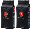 Lamborghini BLACK Medium Blend Coffee Beans 4.4 lbs (2000g)