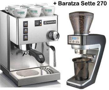 Rancilio Silvia M V5 and Baratza Sette 270 Grinder Combo