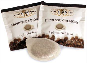 Miscela D'Oro ESE Espresso Cremoso PODS Box of 150