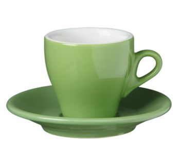 Nuova Point Green Espresso Cups Set of 6