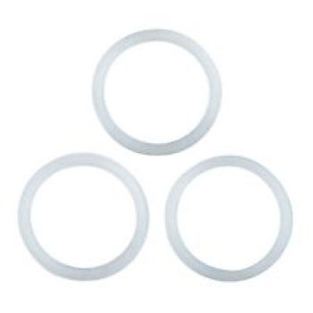 10 Cups SILICONE Gaskets for Stella Coffee Makers - Set of 3