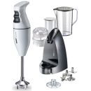 Bamix Classic Selection White Hand Mixer Blender 10 Pcs Set