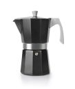 Ibili 3 Cups - 200ml Evva Black Espresso Maker