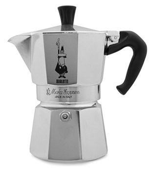 Bialetti 3 Cups - 200ml Moka Espresso Maker