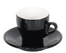 Nuova Point Black Espresso Cups Set of 6