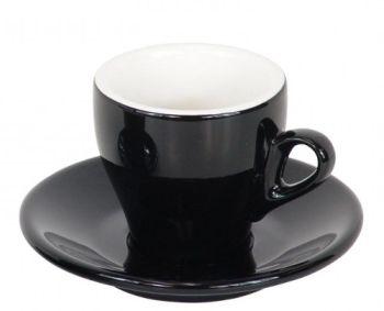 Nuova Point Black Espresso Cups Set of 6