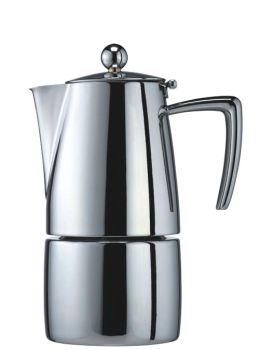 Cuisinox Milano Polished 4 Cup Espresso Coffee Maker