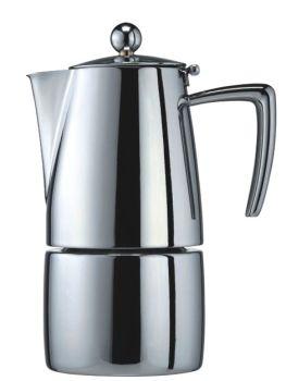 Cuisinox Milano Polished 10 Cup Espresso Coffee Maker