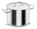 Lacor Chef Low Stock Pots with Lid