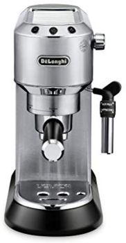 Delonghi Dedica Deluxe Siver Coffee Machine