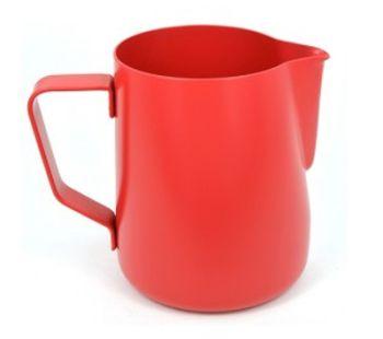 Rhino Coffee Gear 360ml Red Teflon Stealth Milk Jug