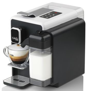 Caffitaly S22 Cappuccina Black / White Coffee Capsule Machine FREE COFFEE SAMPLES